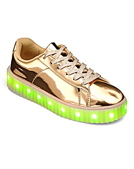 Sole Diva Light Up Trainer E Fit