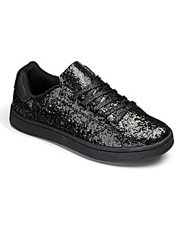 Truffle Glitter Trainer D Fit