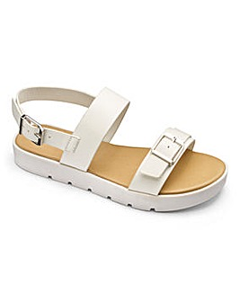 Sole Diva Twin Strap Sandal E Fit