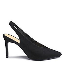 Sole Diva Mel Sling Back Shoe E Fit