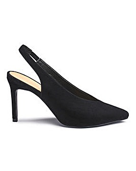 Mel Sling Back Shoe E Fit