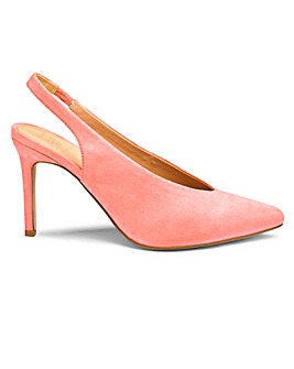 Sole Diva Mel Slingback Shoe EEE Fit