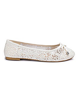 Sole Diva Lace Ballerina E Fit
