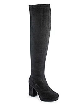 Truffle Over the Knee Boot D Fit