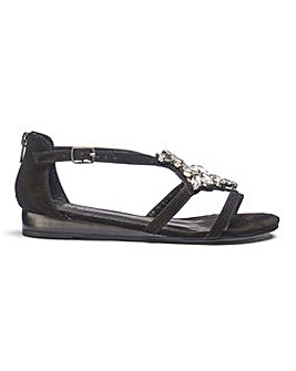 Luci Jewelled Sandal EEE Fit