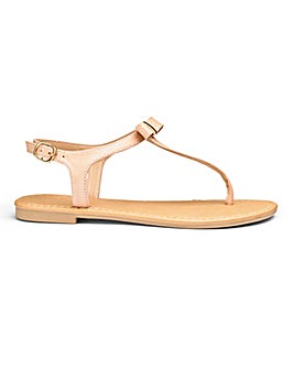 Sole Diva Bow Sandal E Fit