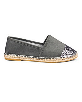 Sole Diva Espadrille EEE Fit