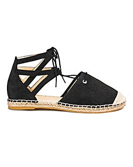 Sole Diva Tie Espadrille E Fit
