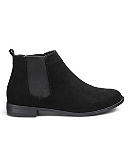 Sole Diva Lottie Chelsea Boots E Fit