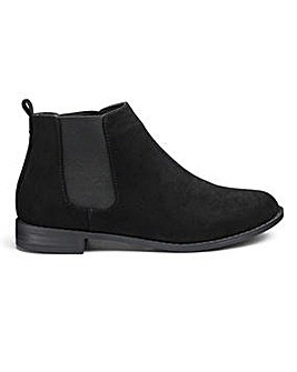 Sole Diva Lottie Chelsea Boots EEE Fit
