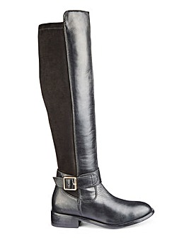 Chloe Leather Knee High E Super Curvy