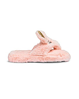 Bunny Toe Post Slipper
