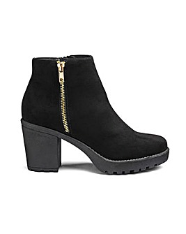Sole Diva Kate Chunky Boot EEE Fit