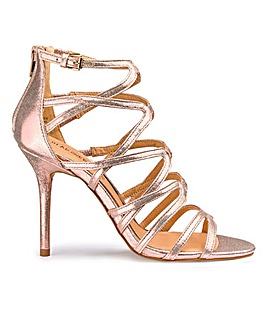 Head Over Heels Caged Sandal D Fit