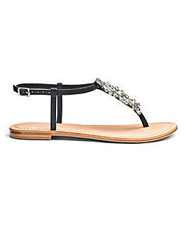 Sole Diva Lollie Leather Toepost E Fit