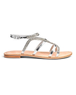 Sole Diva Amy Leather Sandal E Fit