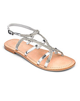 Sole Diva Amy Leather Sandals E Fit