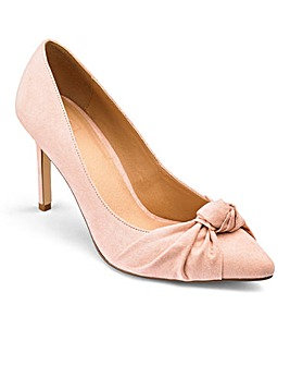 Sole Diva Hope Knot Court Shoes EEE Fit