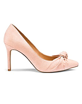 Sole Diva Knot Court Shoes EEE Fit