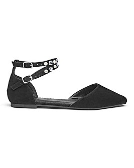 Sole Diva Hailey Ankle Strap EEE Fit