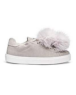 Sole Diva Penny Pom Pom Trainers E Fit