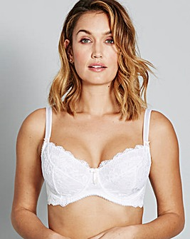 Pour Moi Amour White Full Cup Bra
