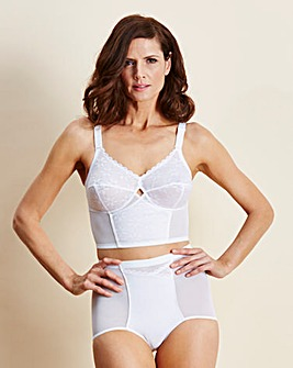 Berlei Longline Non Wired White Bra