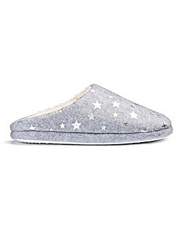 Star Mule Slipper