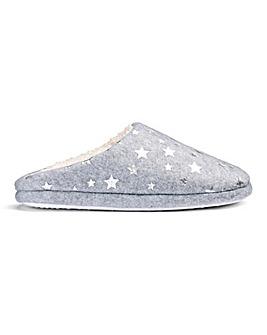 Star Mule Slipper