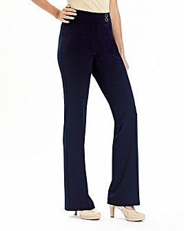 Bootcut Trousers Short