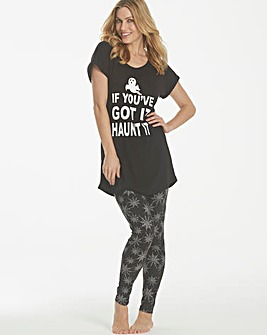 Pretty Secrets Halloween Legging Set