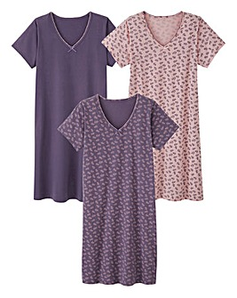 Pretty Secrets Pack of 3 Nighties L36