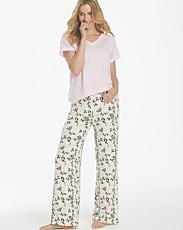 Pretty Secrets Jersey Wide Leg Trousers
