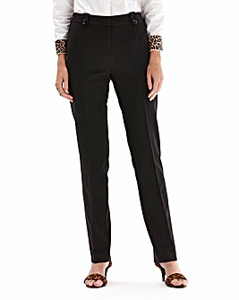 Mix And Match Slim Leg Trousers Short