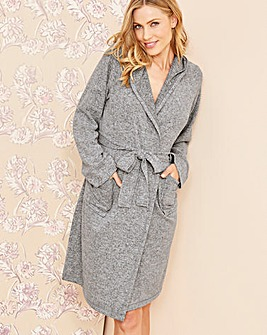 Pretty Secrets Knitted Hooded Gown