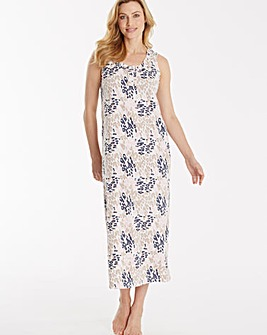 Pretty Secrets Printed Maxi Nightie