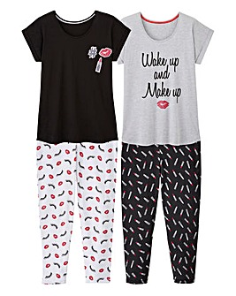 Pretty Secrets Pack of 2 Leggings