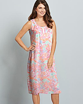 Pretty Secrets Printed Maxi Nightie L48
