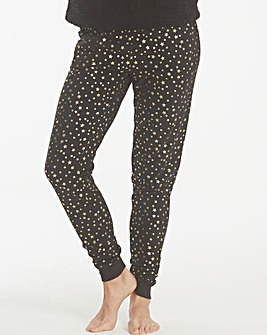 Pretty Secrets Star Print Cuffed Trouser