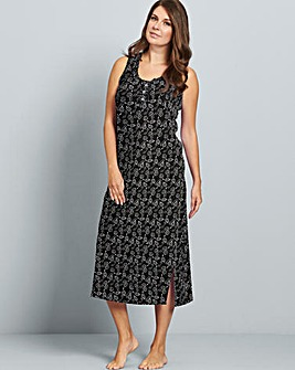 Pretty Secrets Printed Maxi Nightie 48