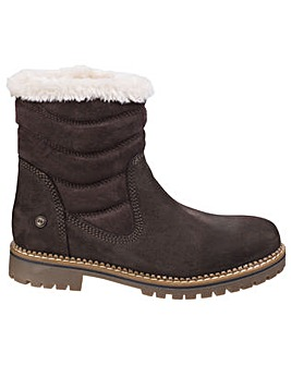 Darkwood Rosewood Womens Casual Boot