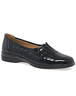 Gabor Womens Leather Wide Fit Shoes