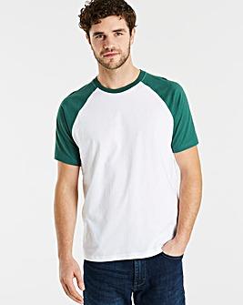 Jacamo Drake Raglan T-Shirt Long