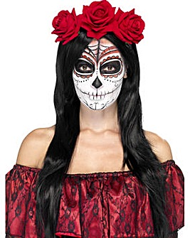 Halloween Day of the Dead Headband