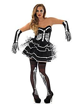 Halloween Ladies Skeleton Tutu Dress