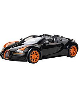 Rastar RC Bugatti Black 1:14