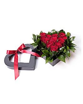 Rose Heart Box