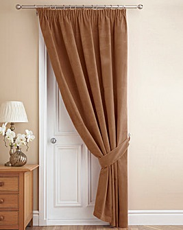 Thermal Velour Door Curtain