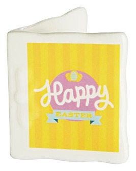 Personalised Yellow Easter Message Card