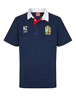 British & Irish Lions Short Sleeve Rugby